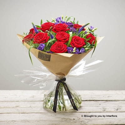 Red Rhapsody Hand-tied
